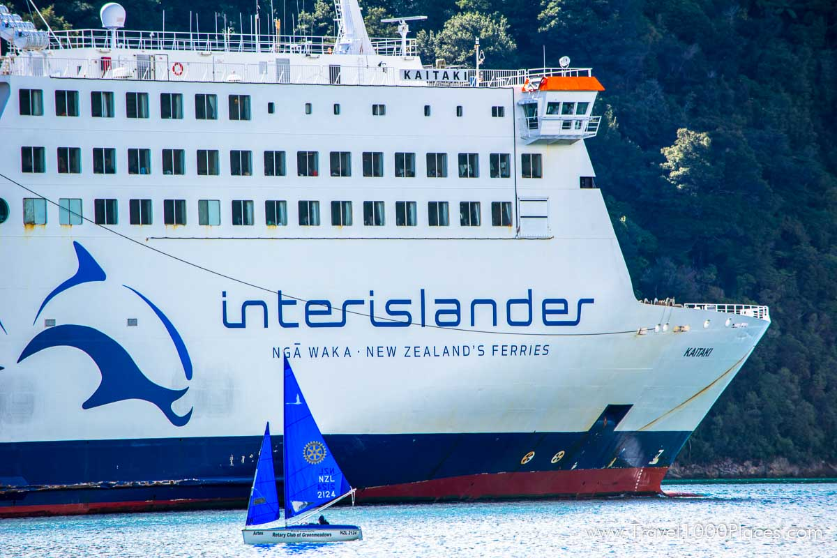 InterIslander-- Ferry between North- and South Island of New Zealand