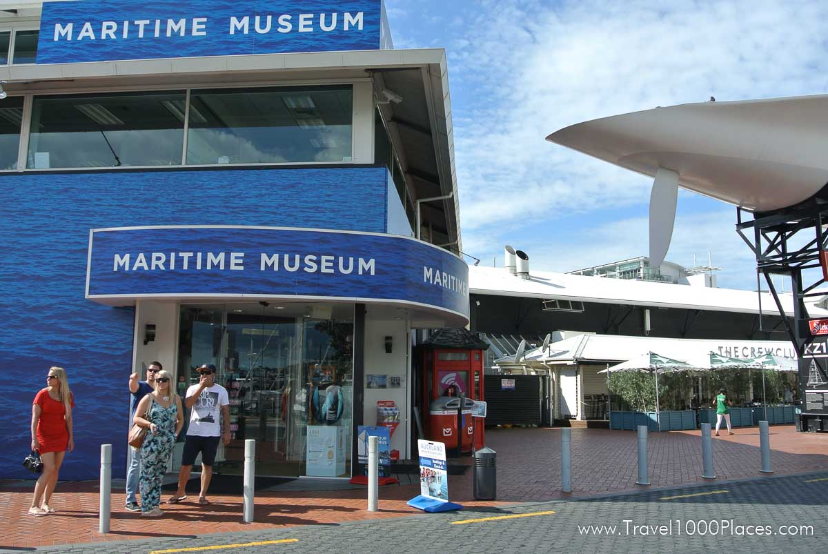 Maritime Museum, Viaduct Harbour, Auckland, New Zealand