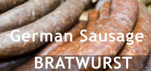 Bratwurst -- the German Sausage