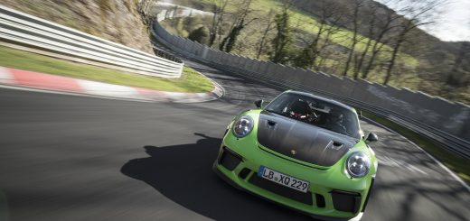 Porsche GT3 RS on Nürburgring (photo: Porsche)