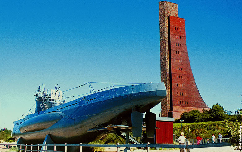 Submarine Memorial Laboe in Kiel Germany