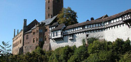 Wartburg Castle in Eisenach, Germany (photo: Robert Scarth, Wikimedia license CC BY-SA 2.0)