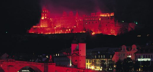 Heidelberg Castle Illuminations (photo: Heidelberg Tourism)