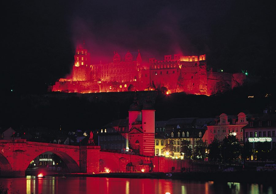 Heidelberg Castle Illuminations (photo: Heidelberg Tourism)