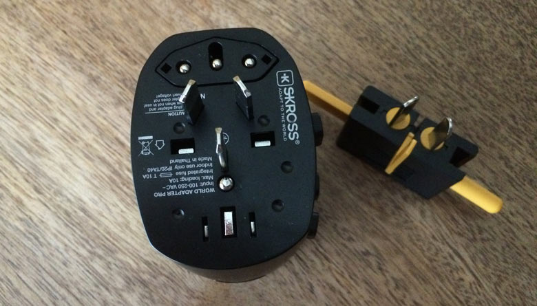 Electric adapter plug Australia / New Zealand