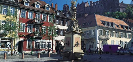 Heidelberg Corn Market (photo: Heidelberg Tourism)