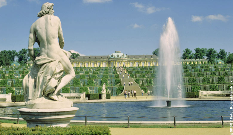 Palace Sanssouci in Potsdam (photo: SPSG / Roland Handrick)