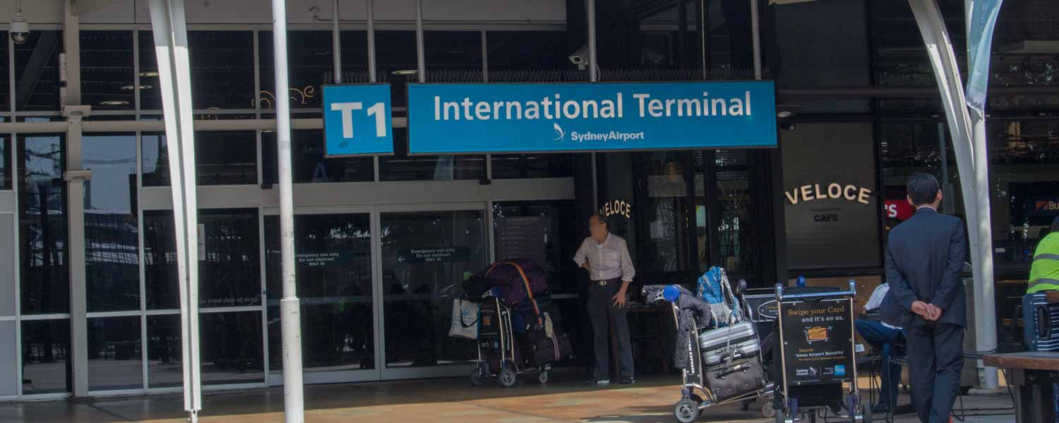 Sydney Airport International Terminal