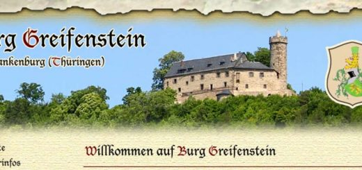Burg Greifenstein, Germany in Bad Blankenburg, Thuringia (photo: website screenshot burg-greifenstein.de)