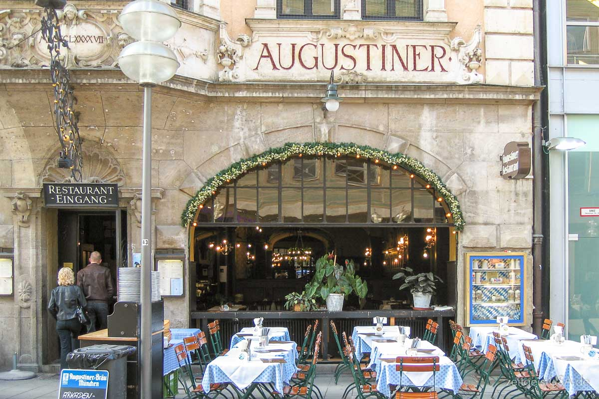 Augustiner located Kaufinger Strasse, Munich, Germany