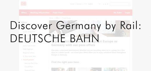 Discovering Germany by rail: DEUTSCHE BAHN