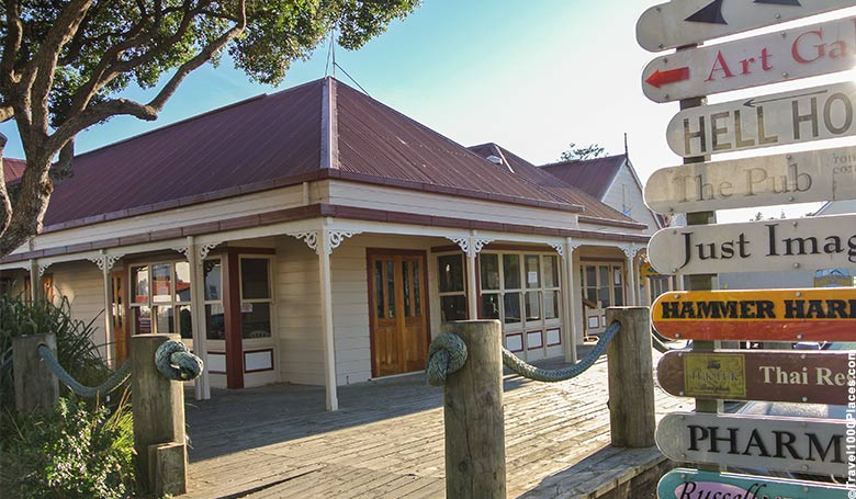 Russel is located adjacent of Paihia