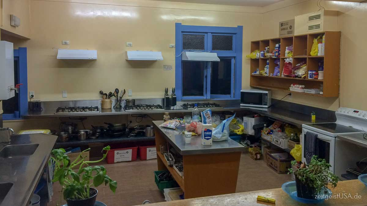 Hostels offer common areas like kitchen, laundry, and other amenities.