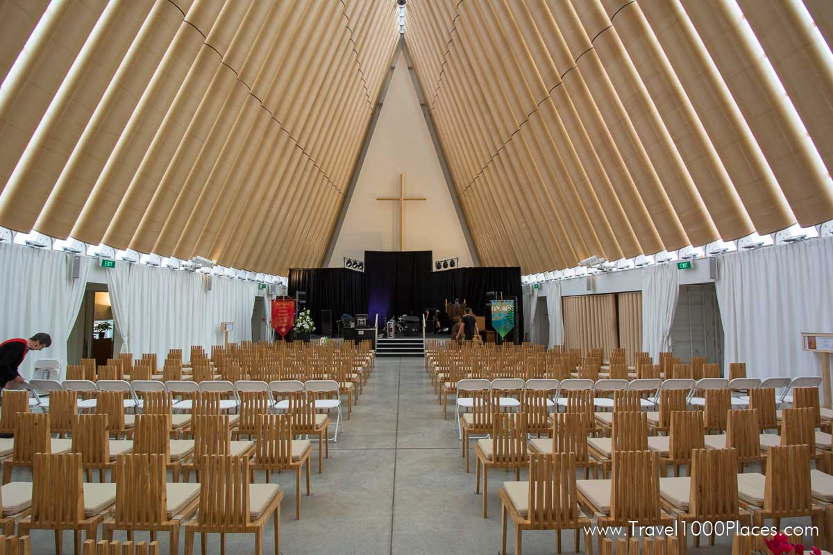 Christchurch -- Cardboard Cathedral