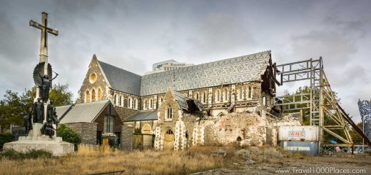 Christchurch -- destroyed cathedral
