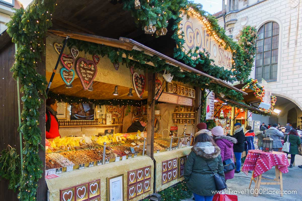 German Christmas Market in Munich