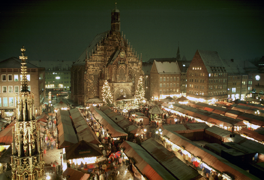 Nuremberg Christkindlmarkt (photo: Nürnberg -- City of Nuremberg)