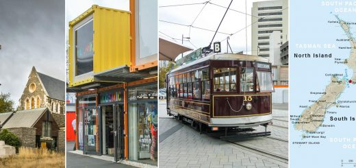 Christchurch (Cathedral, reStart Containers, Trolley)