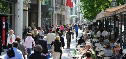 Königsallee in Düsseldorf (photo: DMT)