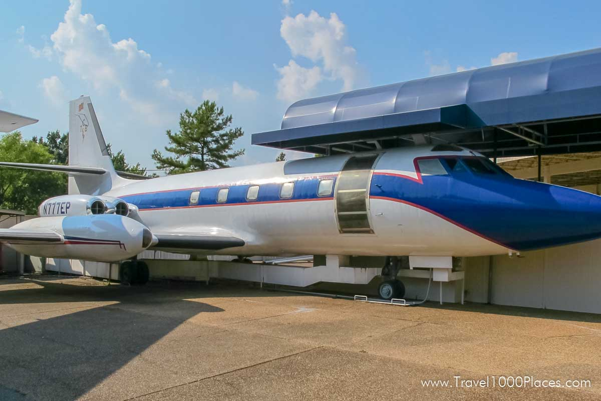Graceland, Memphis: Lisa Marie was Elvis' plane