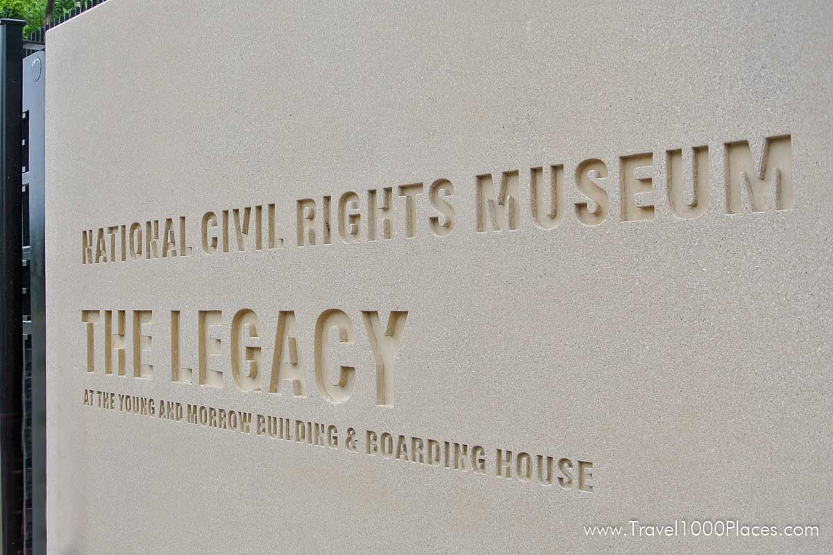 Civil Rights Museum in Memphis