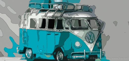 VW Bus became a symbol for the Hippie era and Woodstock Nation