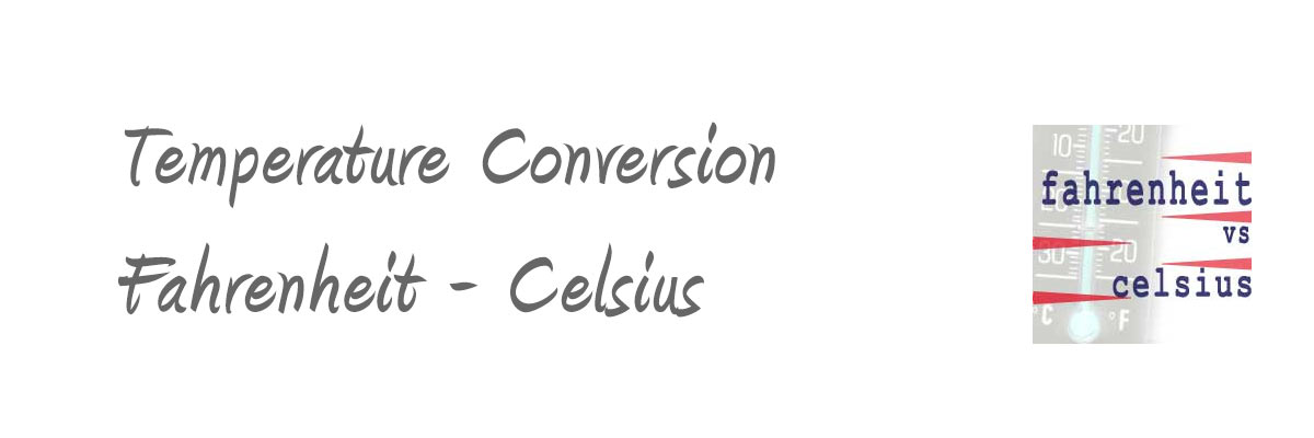 Conversion of Fahrenheit to Celsius