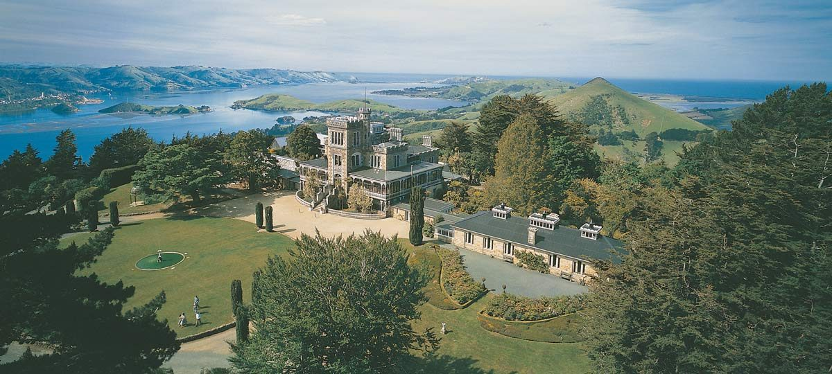 Larnach Castle, near Dunedin, New Zealand (photo: Tourism Dunedin)