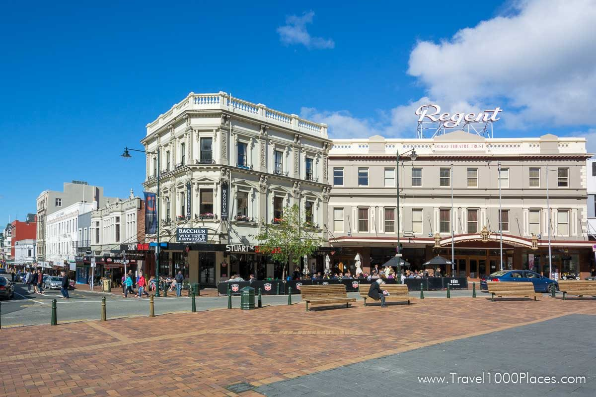 Downtown Dunedin: The Octagon
