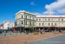 Downtown Dunedin: The Octagon