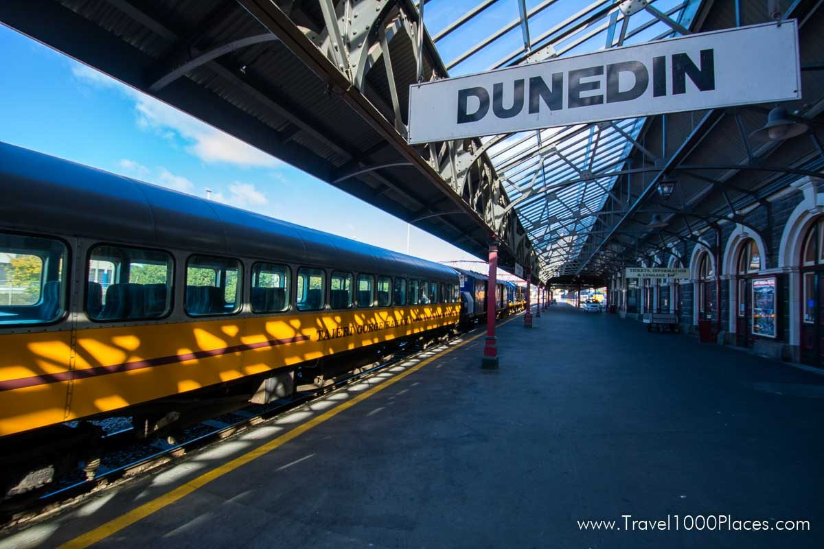 Railroad Station, Dunedin, New Zealand