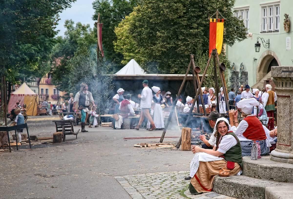 Reichsstadt Festtage Festival (photo: Rothenburg Tourismus Service, Pfitzinger)