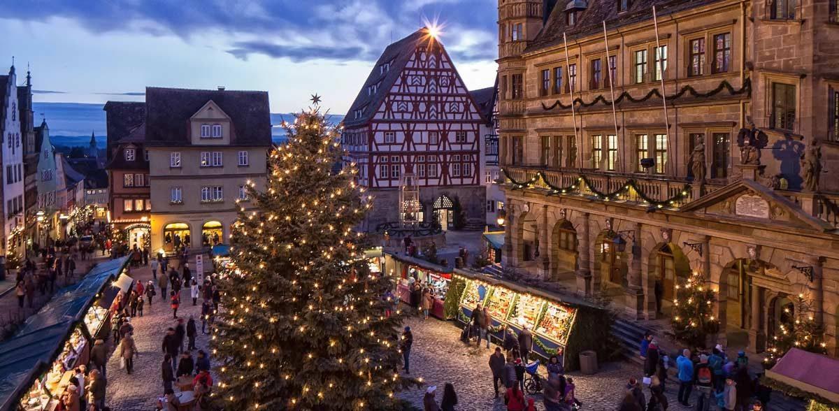 Reiterlesmarkt - Market Place Rothenburg-ob-der-Tauber (photo: Rothenburg Tourismus Service, Pfitzinger)