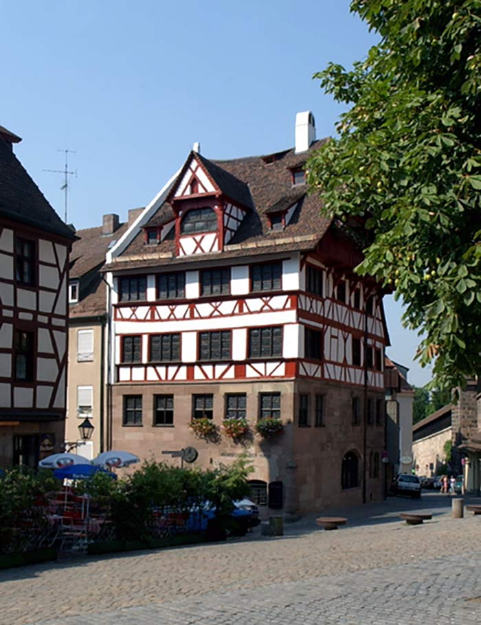 Duererhaus Nuremberg (photo: City of Nuremberg / Stadt Nürnberg)