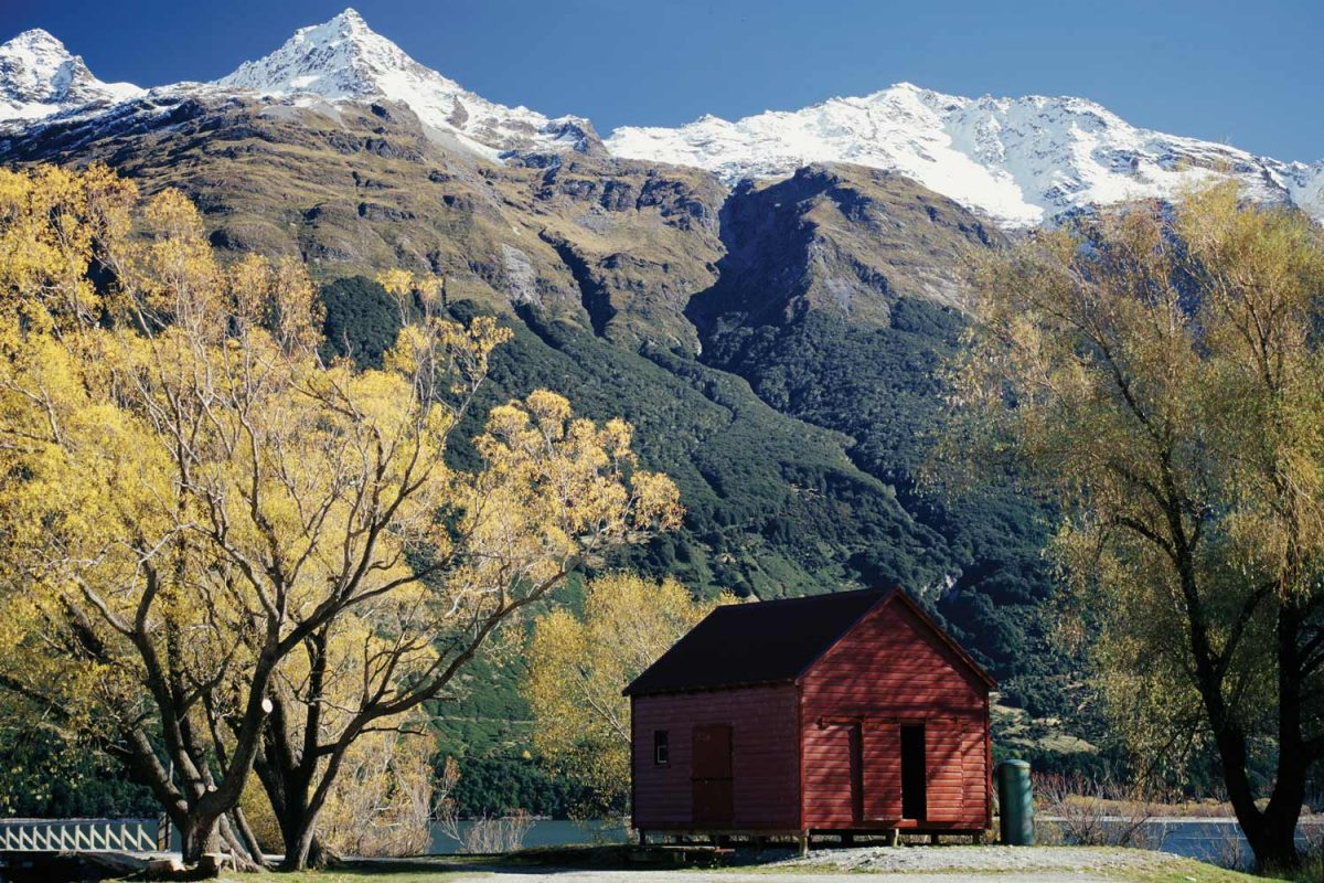 Glenorchy Shed -- Northern Tip of Lake Wakatipu (photo: Destination Queenstown)