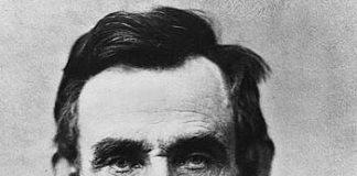 Portrait Abraham Lincoln, 16th President of the United States