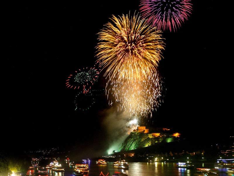 Rhein in Flammen Festival, Koblenz, Germany (photo: Koblenz Touristik)
