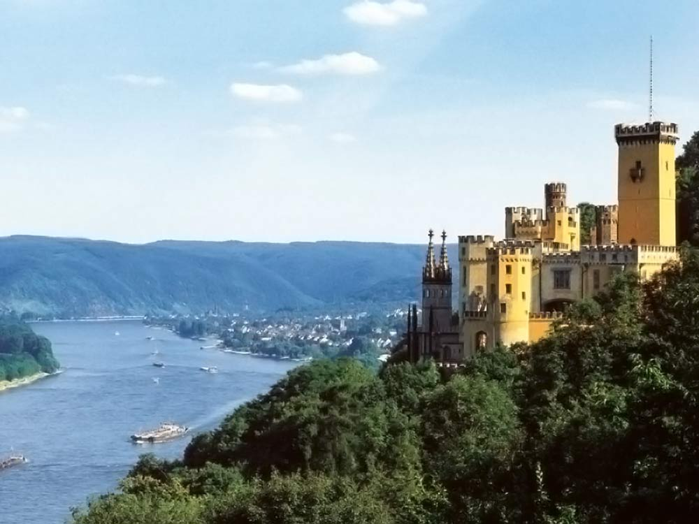 Castle Stolzenfels, Koblenz, Germany (photo: Koblenz Touristik)