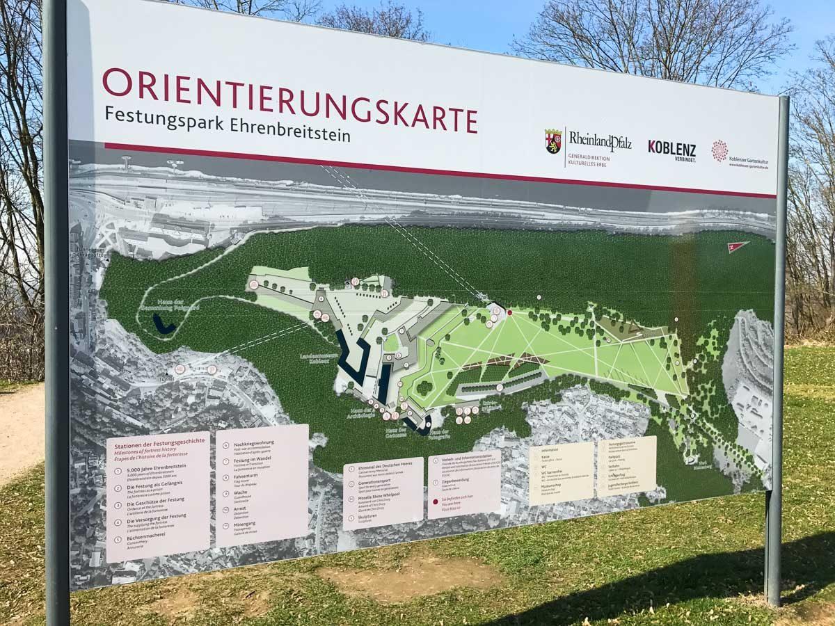 Ehrenbreitstein Map