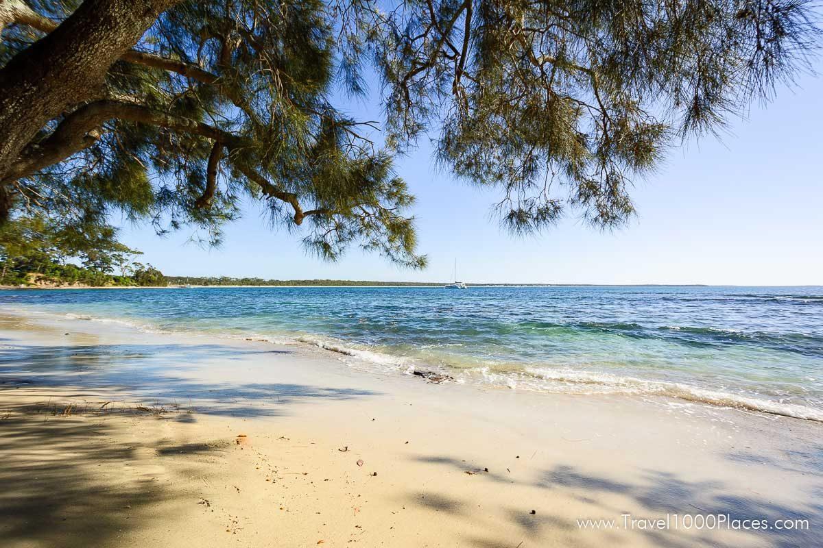 Beach Huskisson, Jervis Bay, NSW, Australia