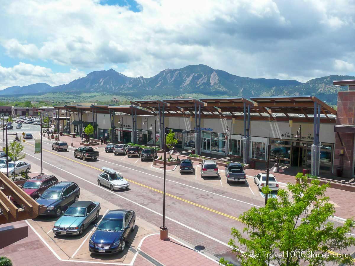 29th Street Mall, Boulder, Colorado
