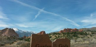 Garden of the Gods, Colorado - located at Colorado Springs