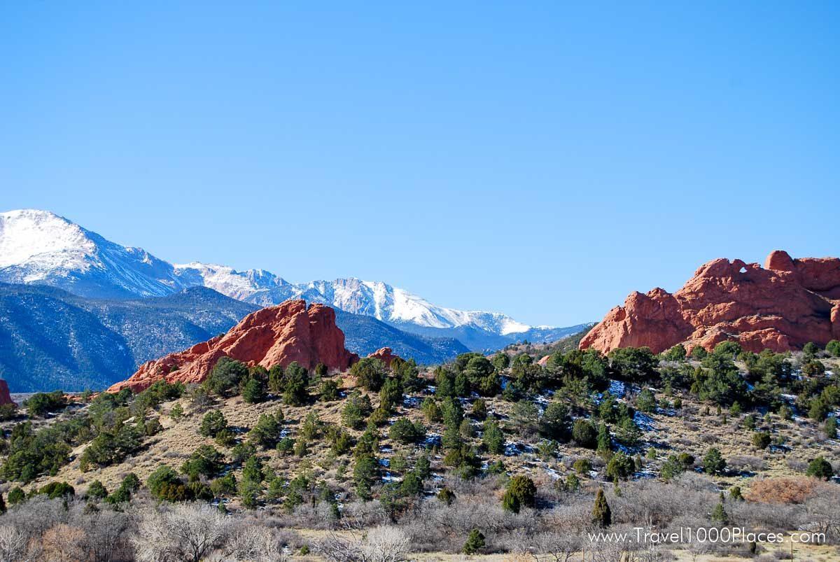 Garden of the Gods, Colorado - located at Colorado Springs