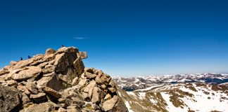 Mount Evans, near Idaho Springs, Colorado, USA