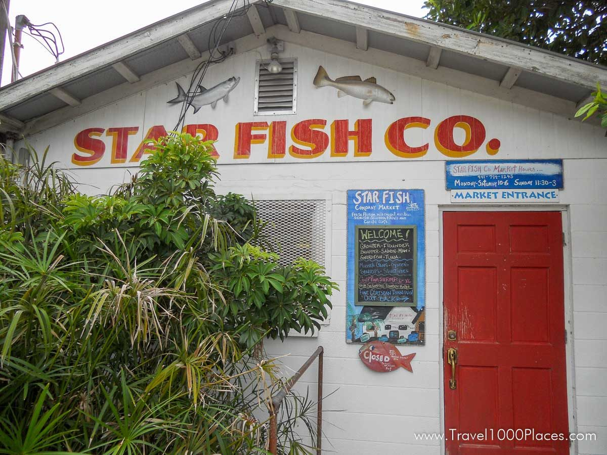 Star Fish Co Dockside Restaurant, Anna Maria Island, Florida
