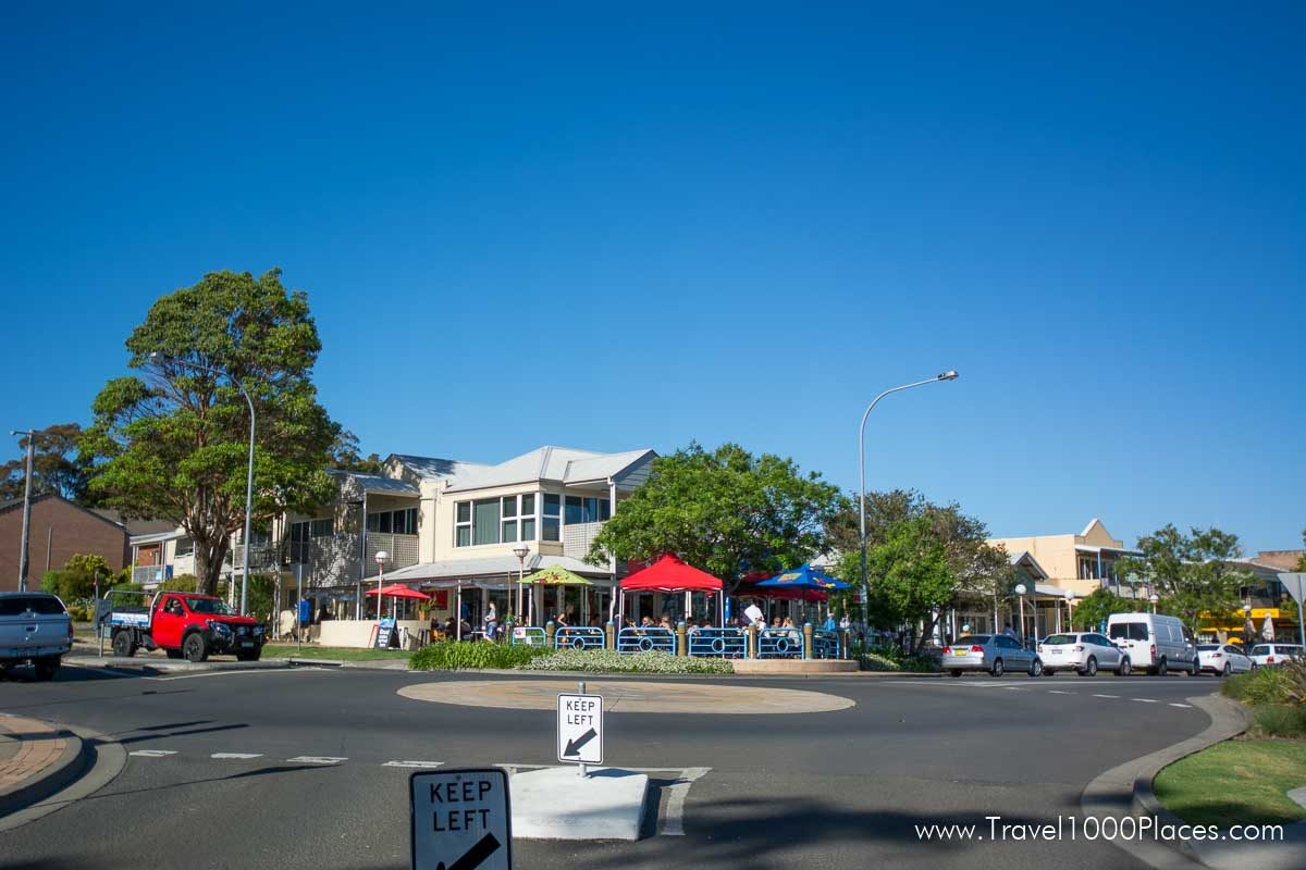 Restaurants and Cafes in Huskisson, Jervis Bay, NSW, Australia