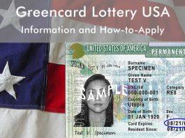USA Greencard Lottery