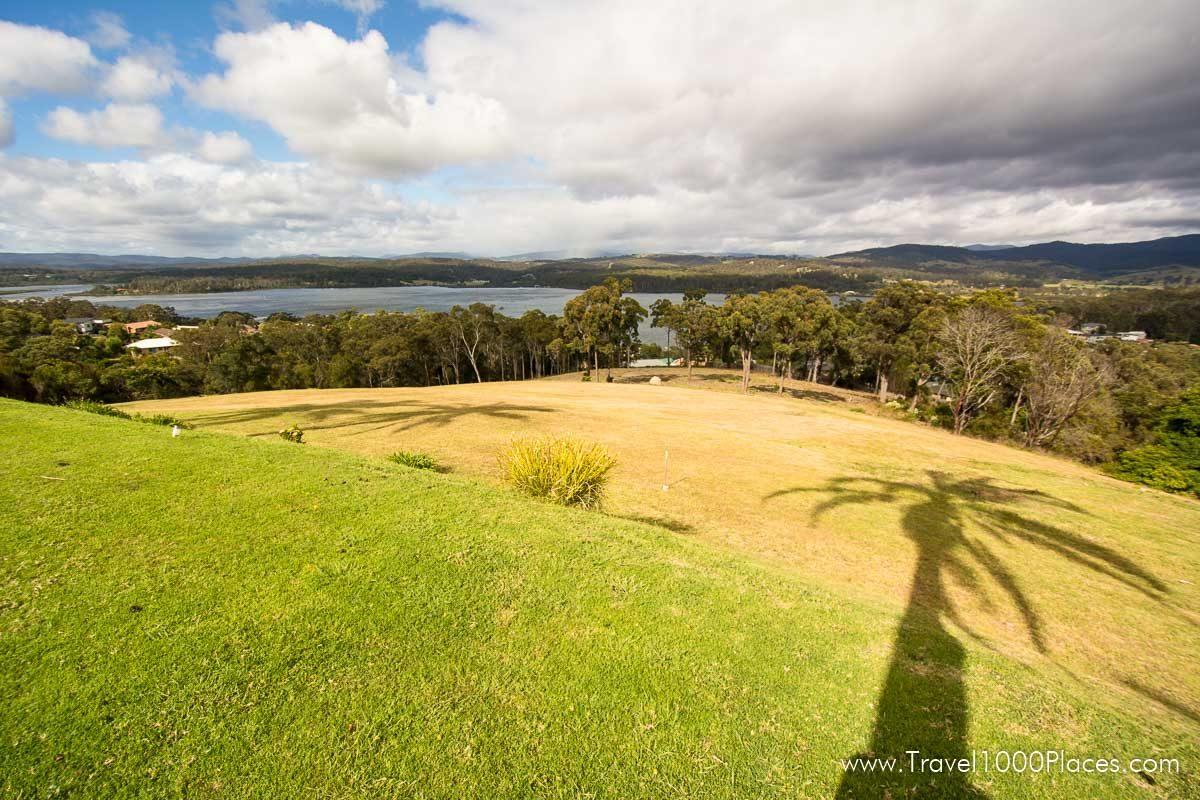 View of the bay and Lake Merimbula (Merimbula, NSW, Australia)