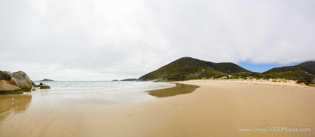 Whisky Bay in Wilson Promontory National Park, Victoria, Australia