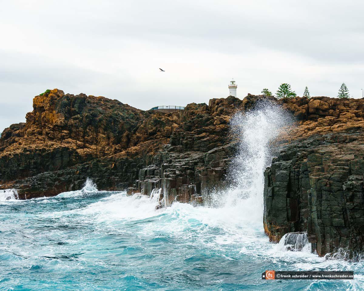 Kiama Blowhole Point Coastline, NSW, Australia (photo: www.frankschrader.us)